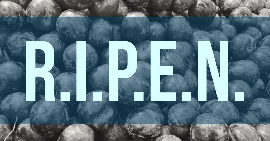 RIPEN - Another Marketing Acronym